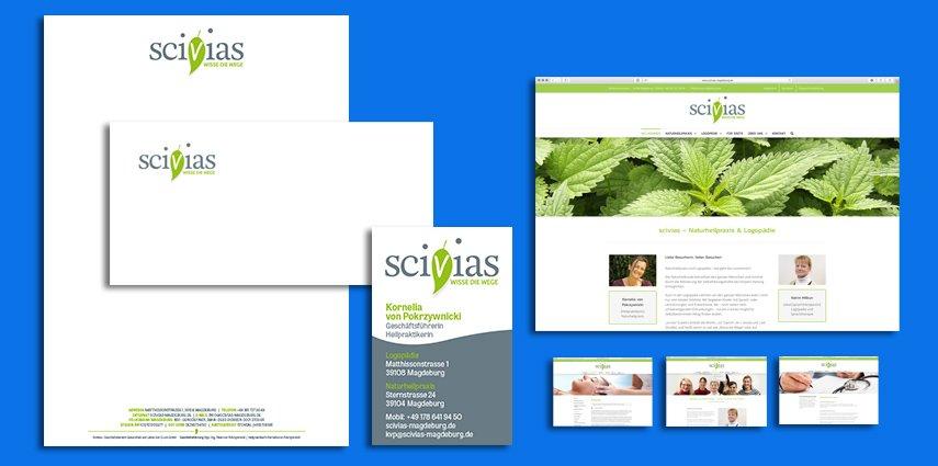 Sitback Werkt  Voor Scivias Naturheilpraxis & Logopädie Uit Duitsland