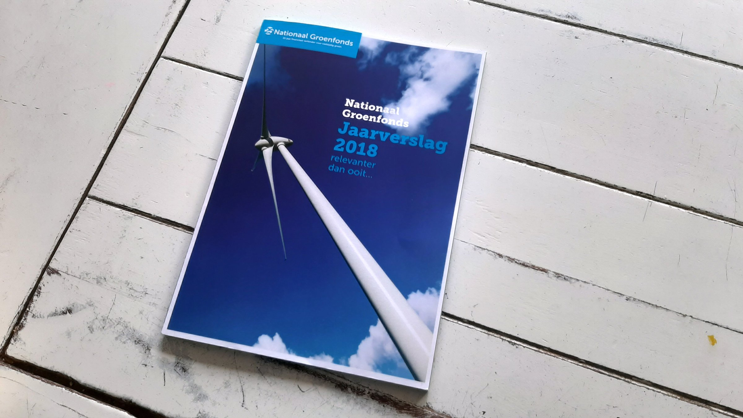 Sitback Ontwerpt Met Veel Plezier Het Nieuwe Nationaal Groenfonds Jaarverslag 2018